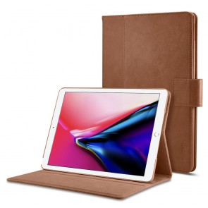 "Spigen iPad 9.7"" Stand Folio Brown"