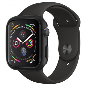 Spigen  Apple Watch 4/5/6/SE  (44 mm) Case Thin Fit  Black