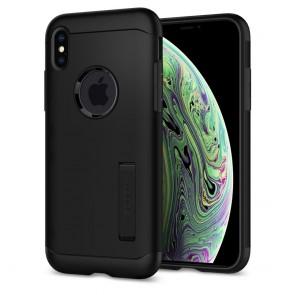 Spigen  iPhone XS/X Case Slim Armor Black