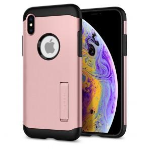 Spigen  iPhone XS/X Case Slim Armor Rose Gold