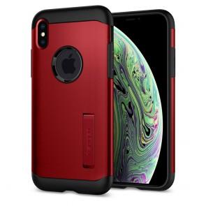 Spigen  iPhone XS/X Case Slim Armor Merlot Red