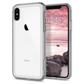 Spigen  iPhone XS/X Case Slim Armor Crystal Dark Crystal