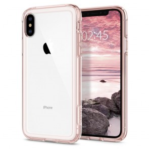 Spigen  iPhone XS/X Case Slim Armor Crystal Rose Crystal