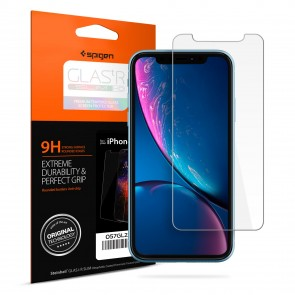 Spigen iPhone 11/ Xr Glas. tR SLIM HD Screen Protector Clear