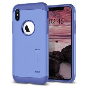 Spigen  iPhone XS Max Case Slim Armor Violet