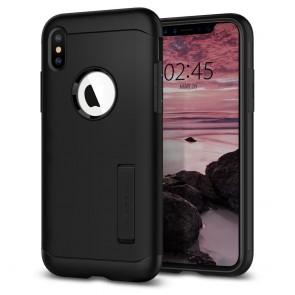 Spigen  iPhone XS Max Case Slim Armor Black