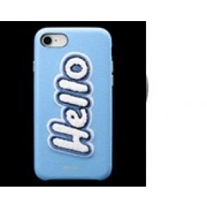 CYRILL  iPhone 8/7/6/6s Case DTLA Hello SKY Light Blue