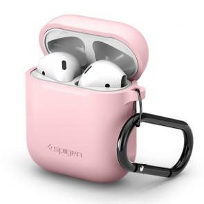 Spigen AirPods Silicone Case Pink
