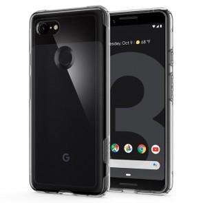 Spigen Google Pixel 3 Case Slim Armor Crystal Crystal Clear