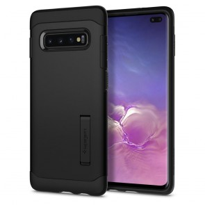 Spigen Samsung Galaxy S10+ Case Slim Armor Black