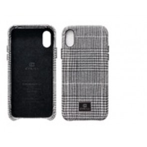 CYRILL  iPhone X/XS Case NY Collection Glam Check Black