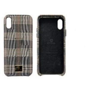 CYRILL  iPhone X/XS Case NY Collection Checkmate Brown