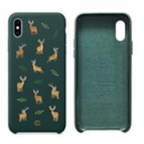 CYRILL  iPhone X/XS Case Portland Series Dear Portland Forest Green