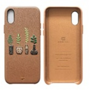 CYRILL  iPhone X/XS Case Portland Series The Vase Taupe
