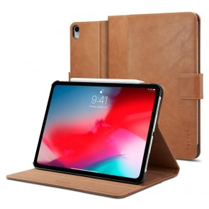 "Spigen iPad Pro 11"" (2018) Stand Folio (Version 2) Brown"