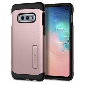 Spigen Samsung Galaxy S10e Case Slim Armor Rose Gold