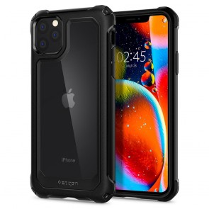 Spigen iPhone 11 Pro Max Gauntlet Case Carbon Black