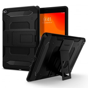 Spigen iPad 10.2 7th/8th Gen Tough Armor Tech Case Black