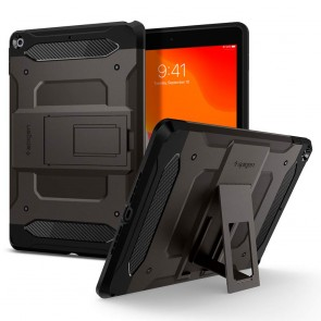 Spigen iPad 10.2 7th/8th Gen Tough Armor Tech Case Gunmetal