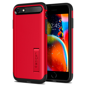 Spigen iPhone SE (2020)/iPhone 8/7 Slim Armor Red