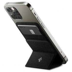 Spigen MagSafe Card Holder Smart Fold Wallet Black