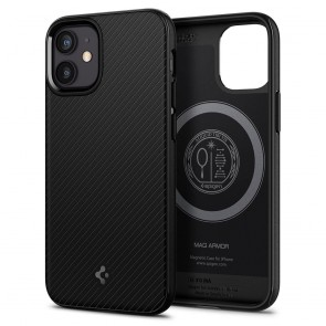 Spigen iPhone 12 mini Core Armor Mag Case Black