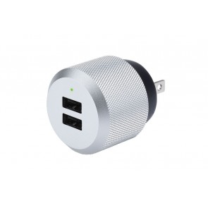 Just Mobile AluPlug 2 port USB Wall Charger US