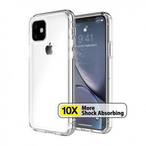 Just Mobile TENC Air Composite Clear Slim Bumper Case iPhone 11 Crystal Clear
