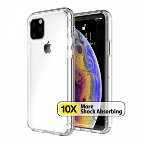 Just Mobile TENC Air Composite Clear Slim Bumper Case iPhone 11 Pro Max Crystal Clear