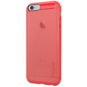 Incipio NGP® for iPhone 6 - Translucent Neon Red