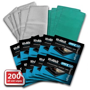 100 Klear Screen Bulk Pack Travel Singles