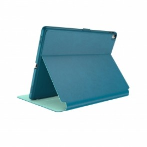 Speck iPad 9.7-Inch (2017), 9.7-Inch iPad Pro, iPad Air 2 Balance Folio - Breeze Blue/Citron Green