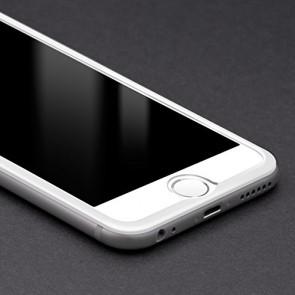 Bodyguardz Pure Glass ScreenGuardz + The Crown for Apple iPhone 6 Plus (White)
