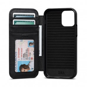 Sena iPhone 13/iPhone 13 Pro Walletbook Black