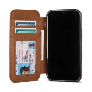 Sena iPhone 13/iPhone 13 Pro Walletbook Toffee