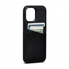 Sena iPhone 13/iPhone 13 Pro Lugano Wallet Black