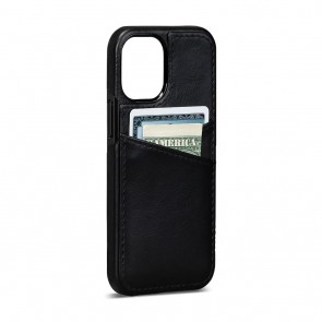 Sena iPhone 13 Pro Max Lugano Wallet Black