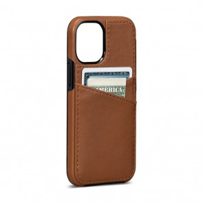 Sena iPhone 13 Pro Max Lugano Wallet Toffee