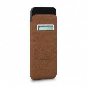 Sena iPhone 13 mini Ultraslim Wallet Tan