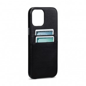 Sena iPhone 13/iPhone 13 Pro Snap On Wallet Black