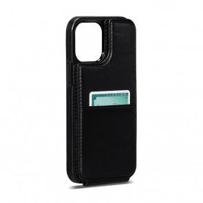 Sena iPhone 13 Pro Max WalletSkin Black