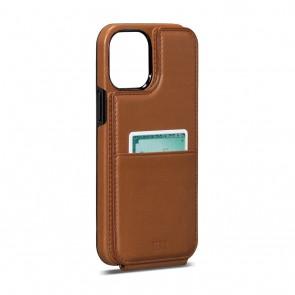 Sena iPhone 13/iPhone 13 Pro WalletSkin Toffee