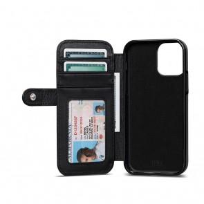 Sena iPhone 13 mini Walletbook Classic Black