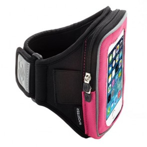 Velocity Series V1 Armband for iPhone 5s/5c/5 and iPhone 4s/4 (Pink)