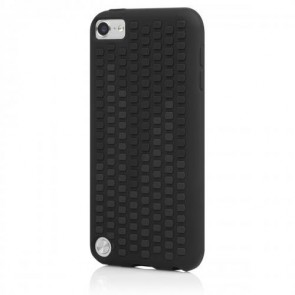 Incipio IP-426 Micro Texture Case for iPod touch 5G - Duo-Tone - Obsidian Black/Charcoal Gray