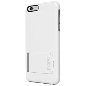 Incipio KICKSNAP? for iPhone 6 Plus - White/Gray