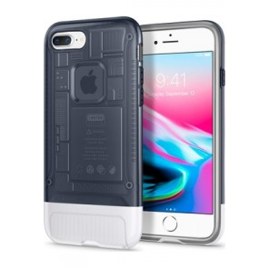 Spigen iPhone 7 Plus / 8 Plus Classic C1 Case Graphite