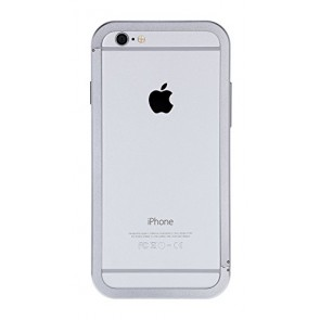Just Mobile AluFrame Case for iPhone 6 - Retail Packaging - Silver