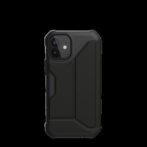 Urban Armor Gear Metropolis Folio Wallet Case For iPhone 12 mini - Black