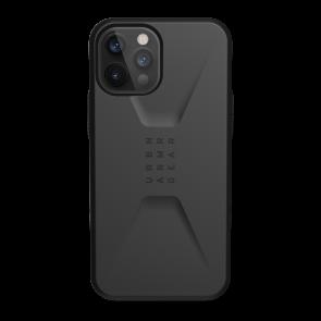 Urban Armor Gear Civilian Case For iPhone 12 Pro Max - Black